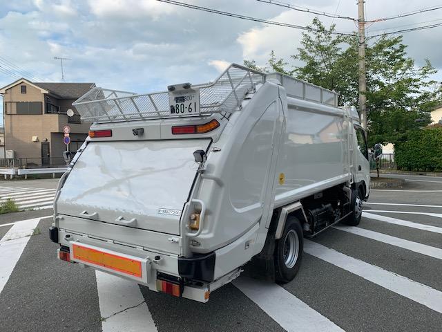7.4m3 ゴミ収集車 パッカー車(9枚目)