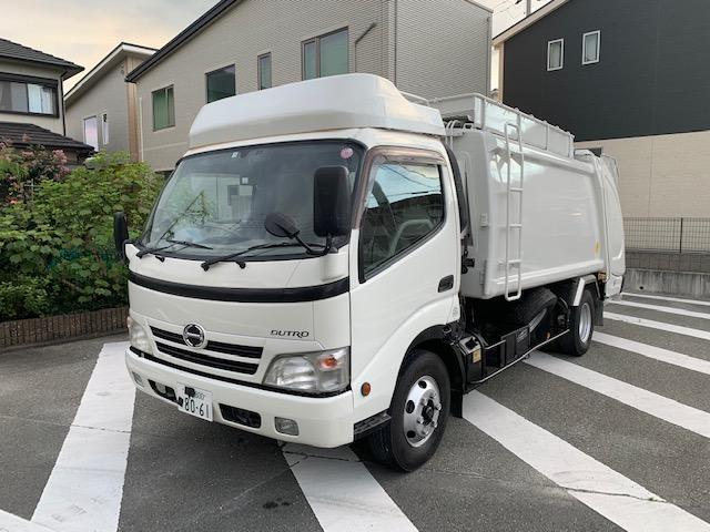 7.4m3 ゴミ収集車 パッカー車(13枚目)