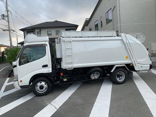 7.4m3 ゴミ収集車 パッカー車(14枚目)