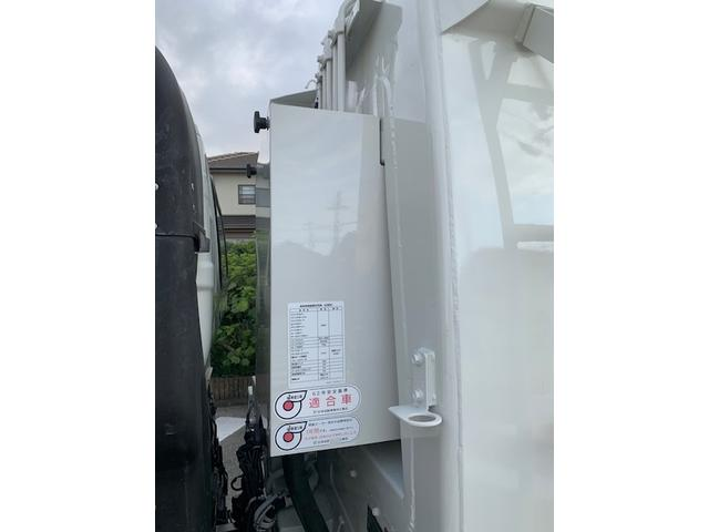 7.4m3 ゴミ収集車 パッカー車(19枚目)