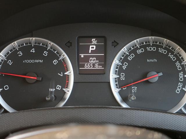 【メーター】現在の走行距離66,516kmでございます。