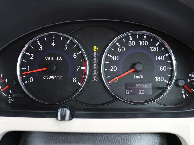【メーター】現在の走行距離85,569kmでございます。