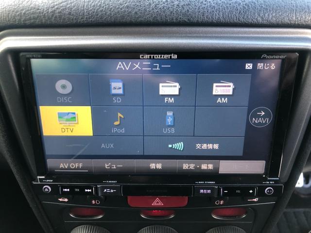 スポルティーバ 2.0 ツインスパークセレS 本革シート 社外SDナビ フルセグ 純正17インチAW F席シートヒーター ETC(4枚目)