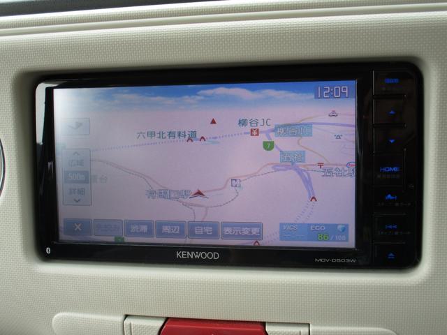 ココアプラスX 社外SDナビ ETC LEDヘッドライト Aストップ スマートキー 禁煙車(フルセグ/Bluetooth/CD/DVD/SD/USB)(9枚目)