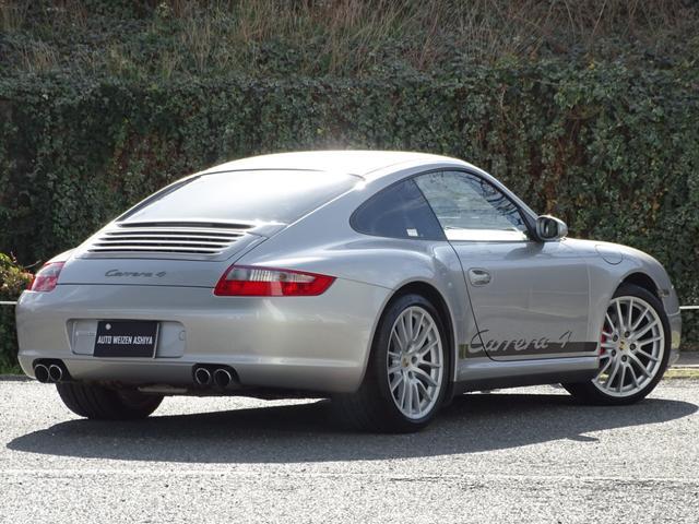 911カレラ4 D車左 6速 4WD黒革ナビSエグゾPASM(2枚目)