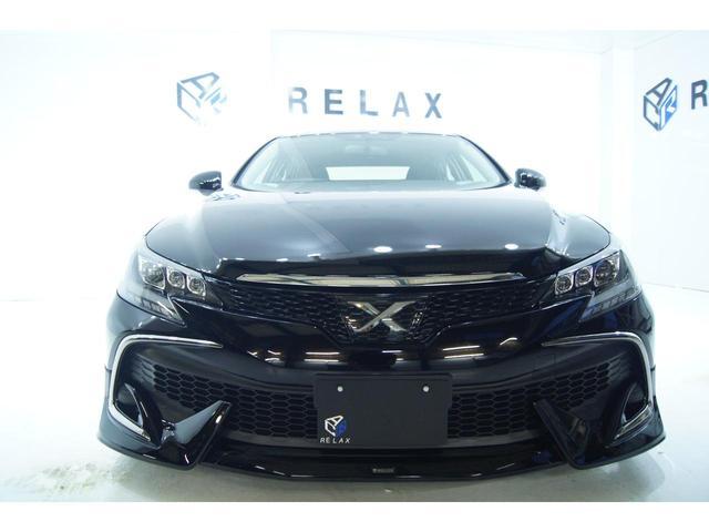 250G Fパッケージ 新品モデリスタ仕様 新品3眼ヘッドライト 新品19ホイール 新品タイヤ 新品車高調 社外ナビ バックカメラ(3枚目)