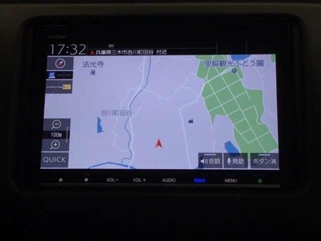 X・ホンダセンシング 8INメモリーナビ フルセグ リヤカメラ ETC(3枚目)