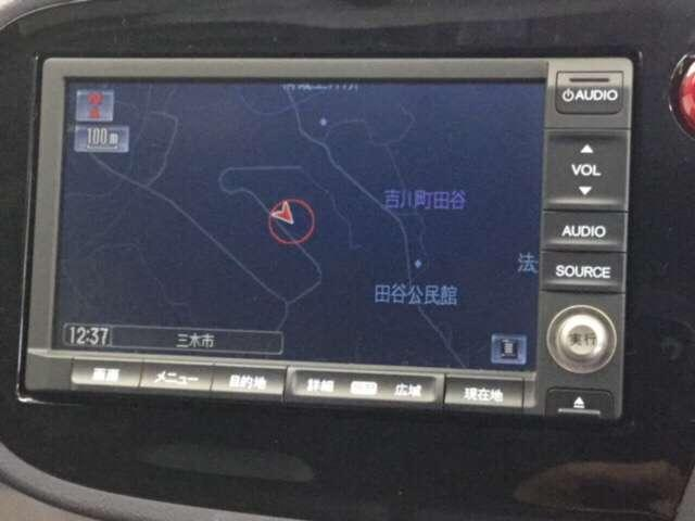 ホンダ純正HDDナビ付きです!日々の運転が本当に快適になります!