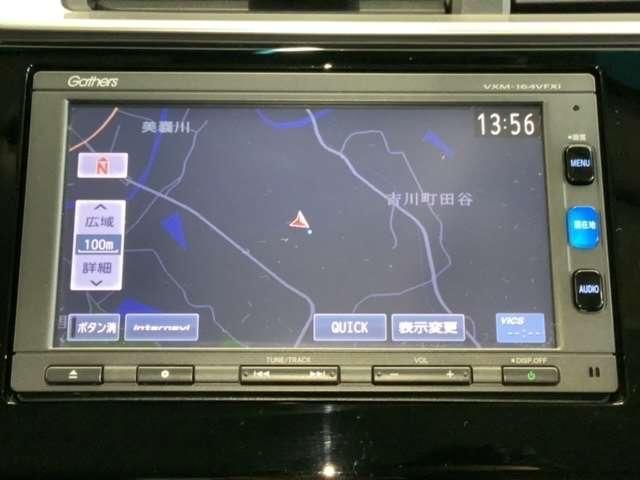 13G・Fパッケージ コンフォートエディション メモリーナビ ETC リヤカメラ フルセグ(3枚目)