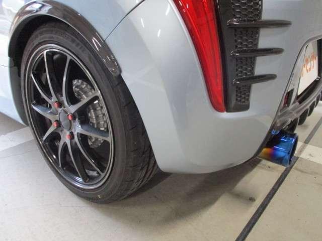 ローブ S 車高調 マフラー アルミ カスタム(14枚目)