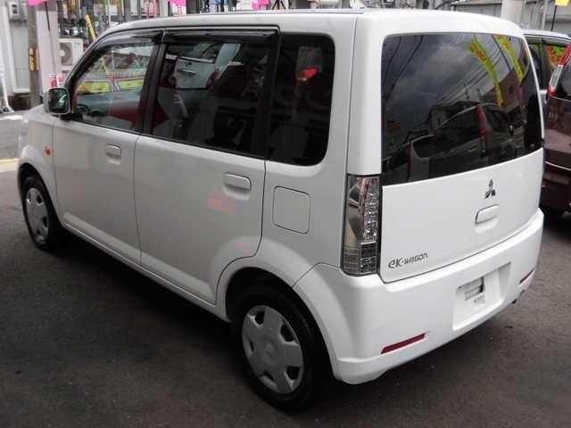 三菱 eKワゴン M キーレス 新品地デジナビ ワンオーナー