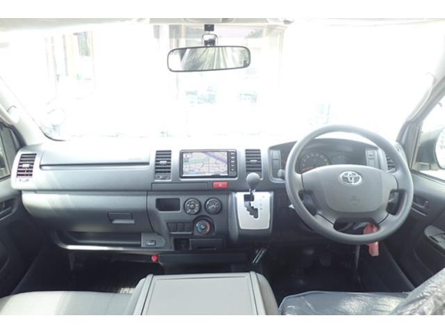 トヨタ ハイエースバン ロングDX GLパッケージ ナビ バックカメラ ETC