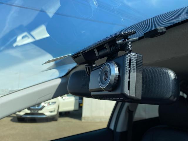 安心安全のドライブレコーダー装備!!