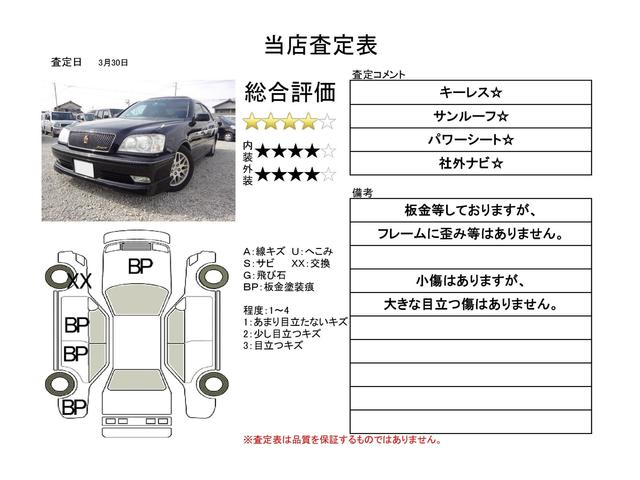 アスリートG サンルーフ 社外ナビ 車高調 キーレス(2枚目)