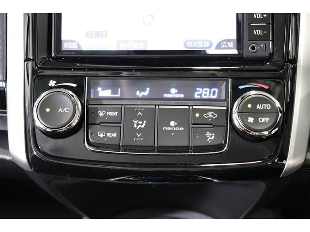 ナノイー付きのオートエアコンで清潔で快適な車内空調です。
