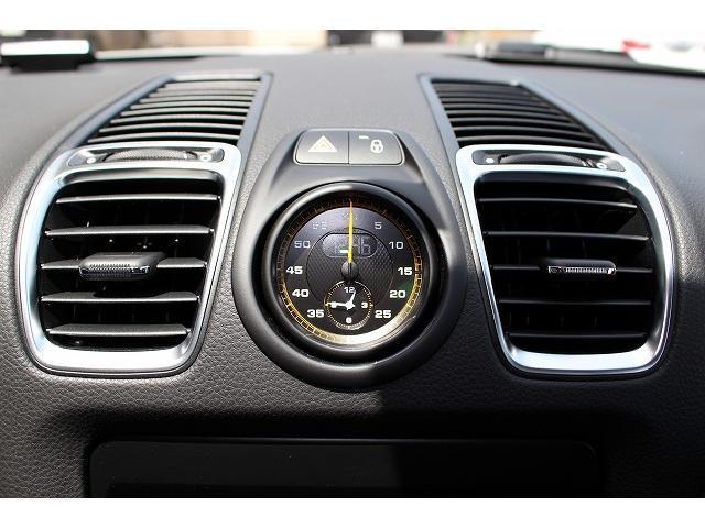 ポルシェ ポルシェ ケイマン GT4スポーツクロノD車ワンオーナー禁煙車フルバケットシート