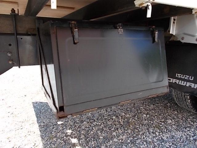 いすゞ フォワード 3.65t ワイド超超ロング 荷寸620-213アルミホイル