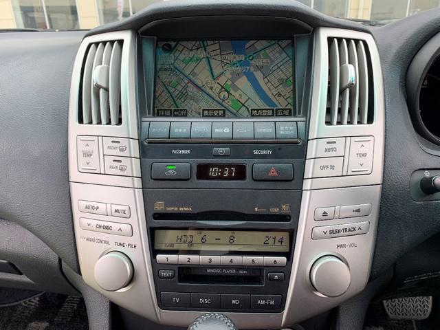HDDナビ装備で長距離ドライブも安心!
