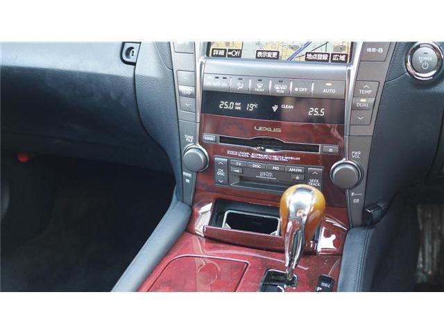 LS600h Iパッケージ 4WD サンルーフ レザーシート(10枚目)