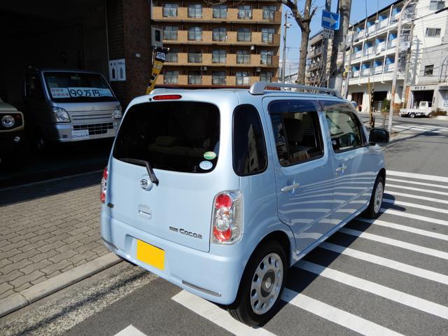 「ダイハツ」「ミラココア」「軽自動車」「大阪府」の中古車7