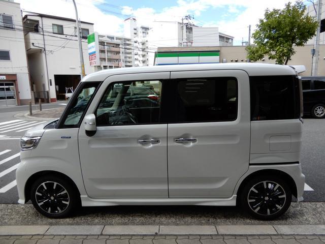 「スズキ」「スペーシアカスタム」「コンパクトカー」「大阪府」の中古車8