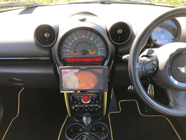 クーパーSD クロスオーバー サンライト 18インチ純正アルミホイール パドルシフト クローズコントロール 5ドア 5人乗り ナビ TV ETC CDプレイヤー 禁煙車(28枚目)