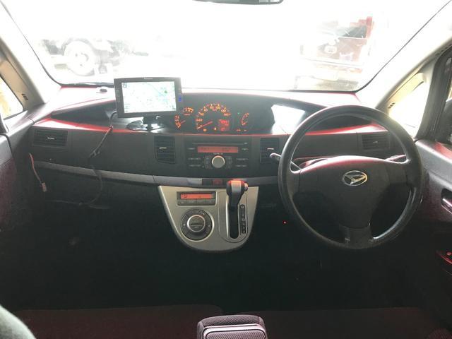 カスタム X スマートキー ナビ ETC HID 車検整備付(9枚目)