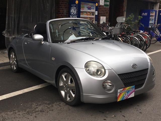 ドライブを楽しみたい方向けのオープンカ経スポーツカーコペン!