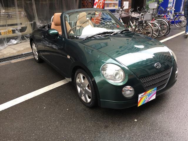 生涯で一度はオープンカーに乗りたいと言う方も多いと思います。そんな方に軽自動車のコペンをお勧めします。お値段もお手頃価格になっております。