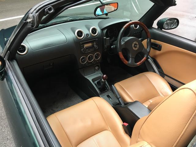 運転席、助手席共に綺麗な状態はなので、一度ご覧ください。