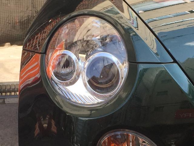 丸目のヘッドライトとフォグランプが可愛いです!
