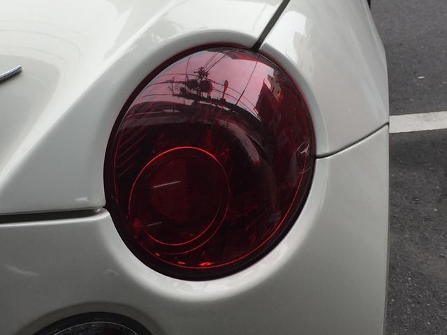 テールランプは、デザイン性と機能性の両方を兼ねていて、夜間のドライブもオシャレで安全に!!