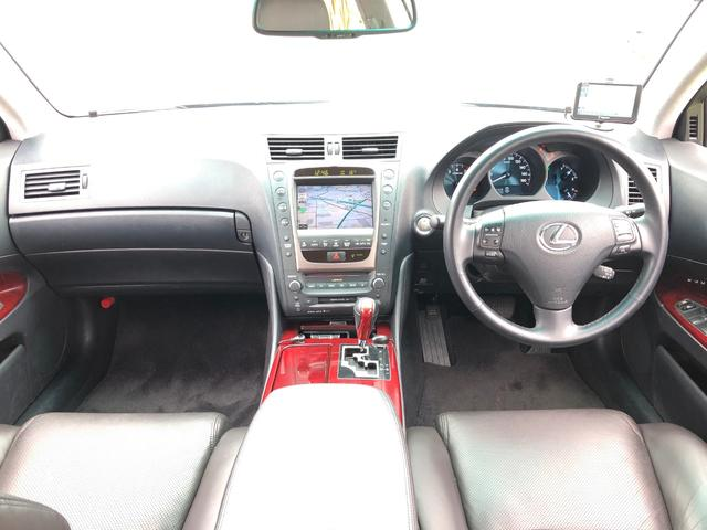GS350 社外アルミ 車高調 革 HDDマルチナビ HID(2枚目)
