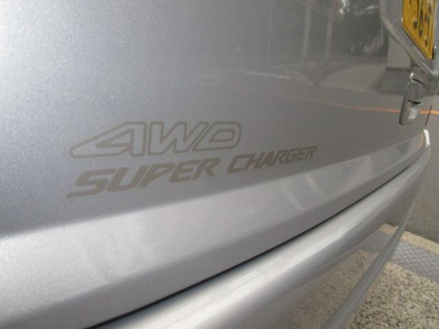 スーパーチャージャー タフパッケージ 4WD ナビ TV(16枚目)
