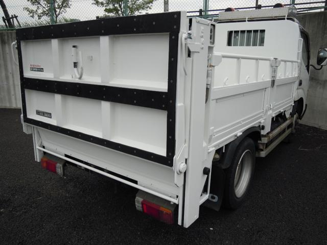 3t積600kgパワーゲート付平ボディ 全低床車(5枚目)