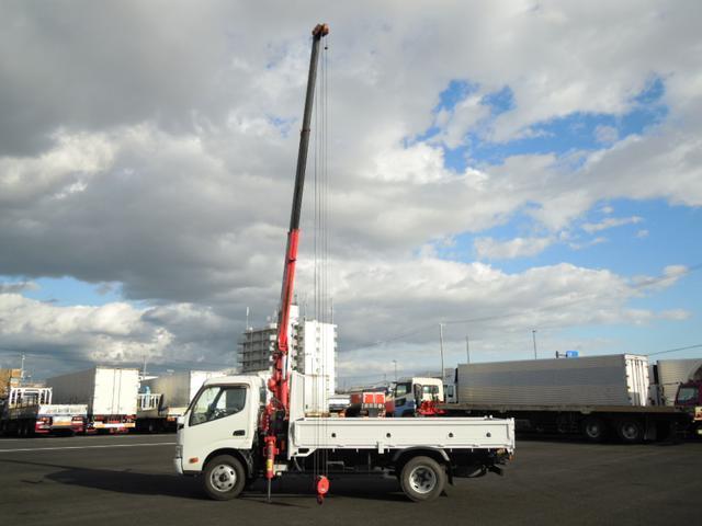 2.63t吊3段クレーン付 ラジコン付 高床車(15枚目)