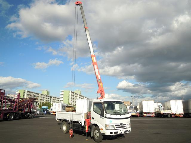 2.63t吊3段クレーン付 ラジコン付 高床車(20枚目)