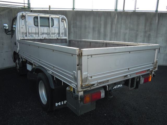 4WD 3t積み 10尺平ボディ 全低床(6枚目)