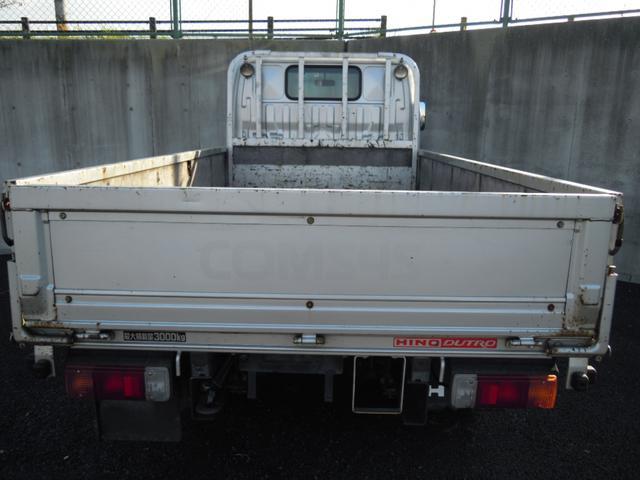 4WD 3t積み 10尺平ボディ 全低床(7枚目)