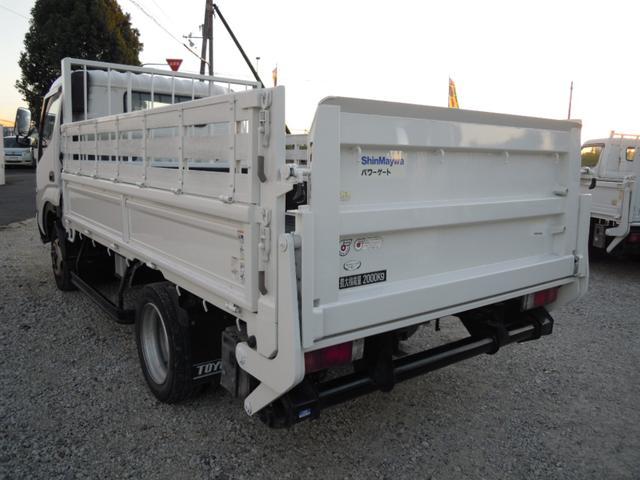 セミロング パワーゲート800kg付平ボディ 全低床(4枚目)