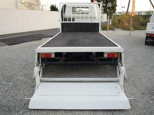 セミロング パワーゲート800kg付平ボディ 全低床(10枚目)