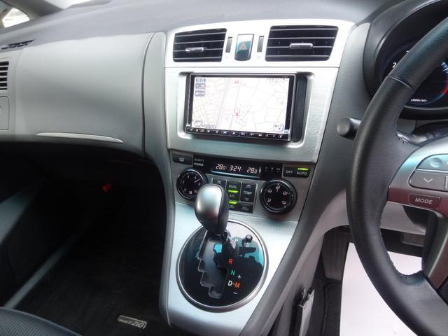 エアリアルVセレクション パークアシスト スマートキー プッシュスタート HDDナビ フルセグTV HIDライト ETC ドライブレコーダー 純正AW オートライト Bluetooth USB端子(9枚目)