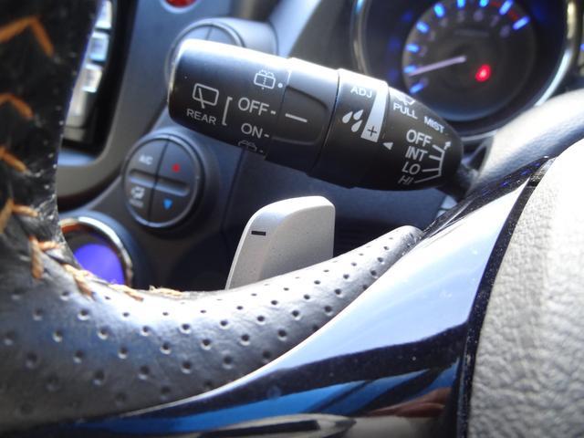 RS クルーズコントロール 革巻きハンドル ステアリングリモコン 純正SDナビ フルセグTV ビルドインETC オートライト HIDヘッドライト(13枚目)