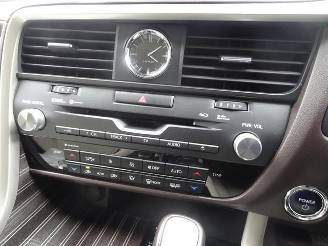 RX450h バージョンL セーフティシステムプラス リアシートエンターテイメントシステム サンルーフ レザーシート 角型3眼LEDヘッドランプ SDナビ プレミアムサウンドシステム パノラミックビューモニター シートヒーター(27枚目)