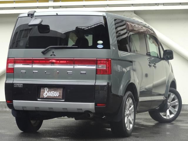 G パワーパッケージ クルコン 4WD 左側パワースライドドア パドルシフト スマートキー HIDヘッドライト ETC 純正アルミホイール オートライト 革巻きハンドル(2枚目)