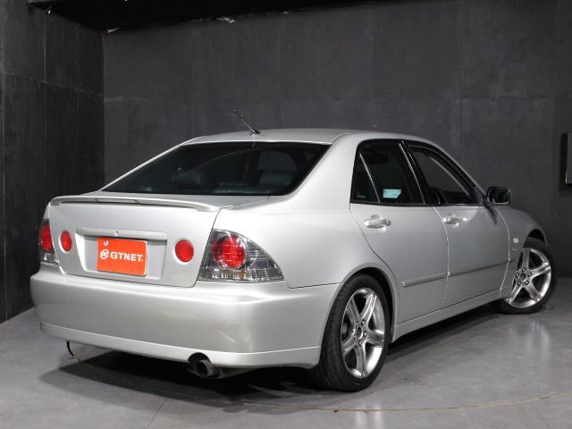 RS200 Lエディション TRDショック サスペンション 純正17インチアルミ TRDマフラー HID ETC 禁煙車(2枚目)