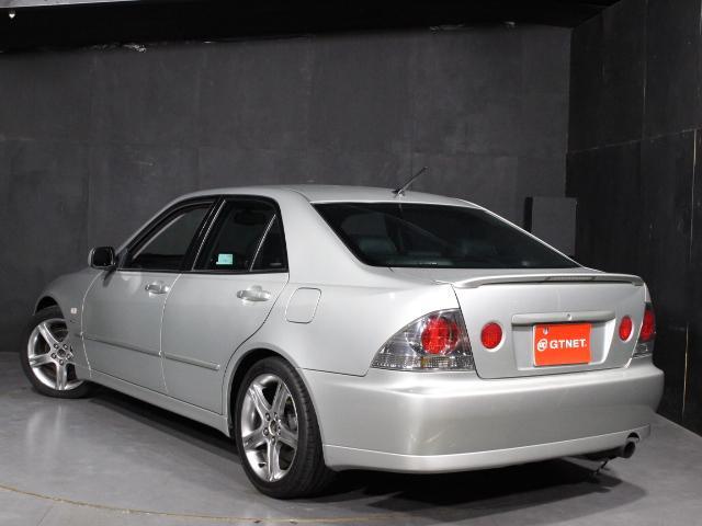 RS200 Lエディション TRDショック サスペンション 純正17インチアルミ TRDマフラー HID ETC 禁煙車(4枚目)