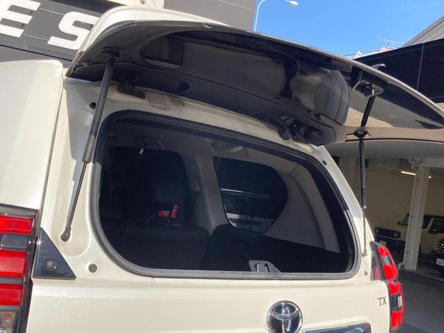 TX Lパッケージ ワンオーナー禁煙車アルパイン11インチBIGXナビBカメラ ガラスサンルーフ 黒革シートヒーター社外17AWリフトアップ LEDライト(17枚目)