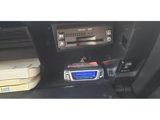 Aタイプ ワンオフワイドフェンダー SSKIT WORKグノーシス20インチ KENWOOD彩速ナビ Bluetooth対応 フルセグ(15枚目)