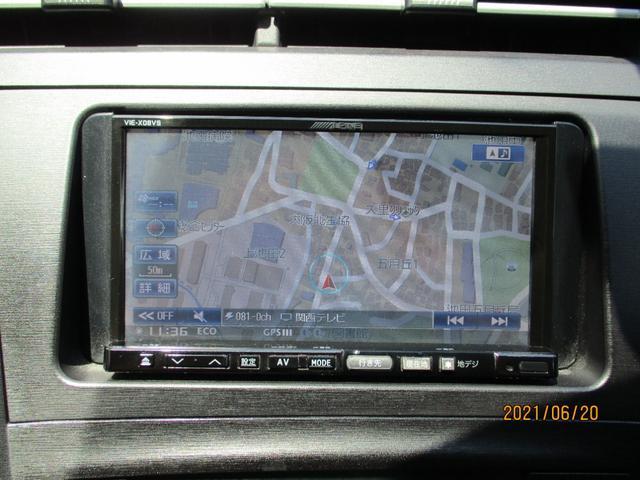 ALPINEナビ Bluetooth 地デジ フルセグ